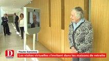 Robocare : des visites virtuelles dans les maisons de retraite