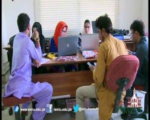SMIU's Study Tour of Sindh University & Mehran Engineering University.