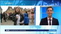 19-20 France 3 Champagne Ardenne 25 09 2015 - Visite de Fleur Pellerin à Charleville-Mézières