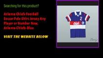 Atlanta Chiefs Football Soccer Polo Shirt Jersey Any Player or Number New, Atlanta-Chiefs-Blue