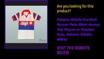 Atlanta Chiefs Football Soccer Polo Shirt Jersey Any Player or Number New, Atlanta-Chiefs-White