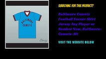 Baltimore Comets Football Soccer Shirt Jersey Any Player or Number New, Baltimore-Comets-Alt