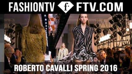 FIRST LOOK! Roberto Cavalli Spring 2016 MFW | FTV.com