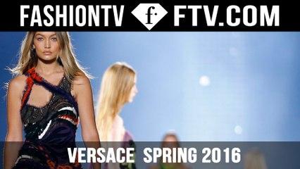 Versace at Milan Fashion Week! | FTV.com