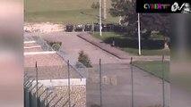 Prison de Metz : les caméras filment l'interpellation de deux suspects en scooter