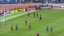 Un penalty concédé dans des circonstances bizarres