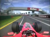 F1 Melbourne 2005 FP2 - Michael Schumacher 2 Laps Onboard!