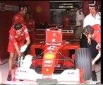 F1 Malaysian GP Sepang 2001 - Qualifying - Michael Schumacher 2 Qualifying Laps!