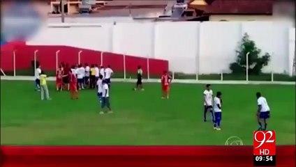 Football Match Ky Dowran Referee Ny Gun Nikal Li – 01 Oct 15 - 92 News HD