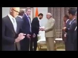 Satya Nadella WIPES Hands Clean After Shaking Hand With Modi INSULT Or MISTAKE !!!