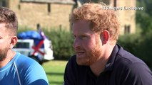 "Prince Harry ""knows roughly"" what soldiers are going through"