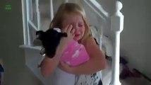 Réactions des gens qui reçoivent un animal en cadeau