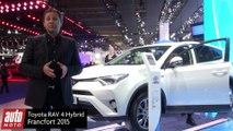 Toyota RAV 4 Hybrid et Toyota CH-R concept : fusée à deux étages [VIDEO A FRANCFORT]