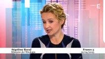 Ségolène Royal - EPR de Flamanville - Entretien sur France 5 le 20/04/15