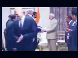 [video] Microsoft CEO Satya Nadella WIPES Hands Clean After Shaking Hand With Modi INSULT Or MISTAKE_!!!
