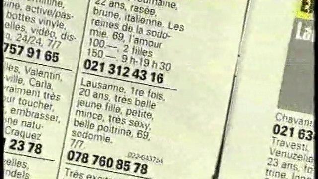 Prostitution et salons de massage en Suisse francophone