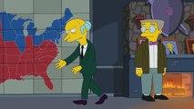 THE SIMPSONS | Mr. Burns Endorses Romney | ANIMATION on FOX
