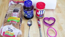 Peanut Butter Jelly Time with Funny Kids Making a Peanut Butter and Jelly Sandwich