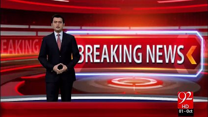 NA-122 Zabta KhilafWarzi Pr Notice Jarri(BN) – 01 Oct 15 - 92 News HD