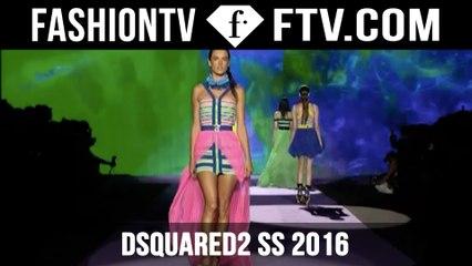 Milan Fashion Week! Dsquared2 Spring 2016! | FTV.com