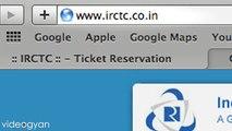 Book train ticket in India on IRCTC Indian Railways
