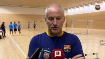 FCB Fútbol Sala: Marc Carmona, previa FCB Lassa - Jaén