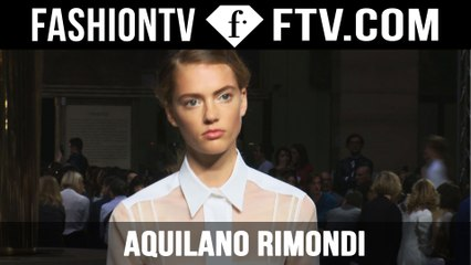 Aquilano.Rimondi Spring 2016 Collection at Milan Fashion Week   MFW   FTV.com