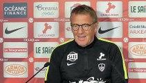 Brest - Metz : conférence de presse d'avant-match