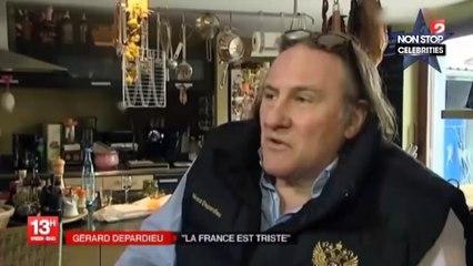 Gerard Depardieu critique une nouvelle fois la France