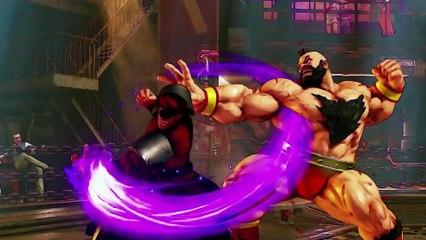Trailer Zangief de Street Fighter V