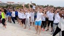 1200 étudiants sur les plages du Prado
