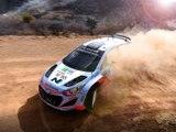 A bord de la Hyundai i20 WRC