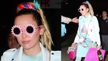 Miley Cyrus zeigt sich in einem interessanten Outfit