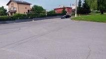 BMW M5 E60 Street Fun! [Burnout + Powerslide]
