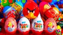 Kinder Surprise eieren Angry Birds uitpakken ~ Unboxing Angry Birds Surprise eggs