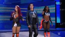 The Bella Twins & Alicia Fox vs Naomi, Sasha Banks & Tamina