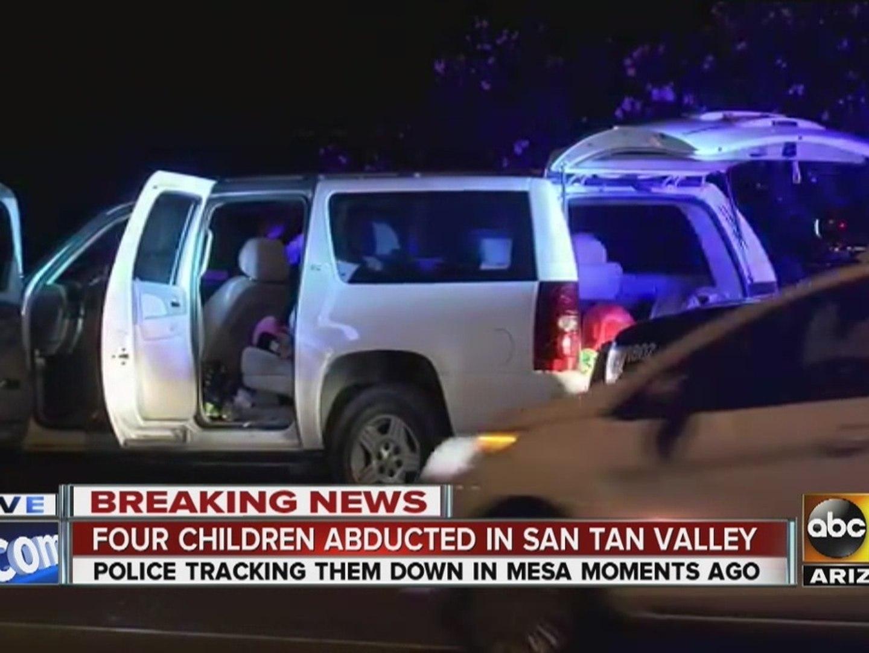 Amber Alert canceled for four missing San Tan Valley kids