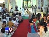 Gujarat CM Anandiben Patel pays tribute to Mahatma Gandhi in Porbandar - Tv9 Gujarati