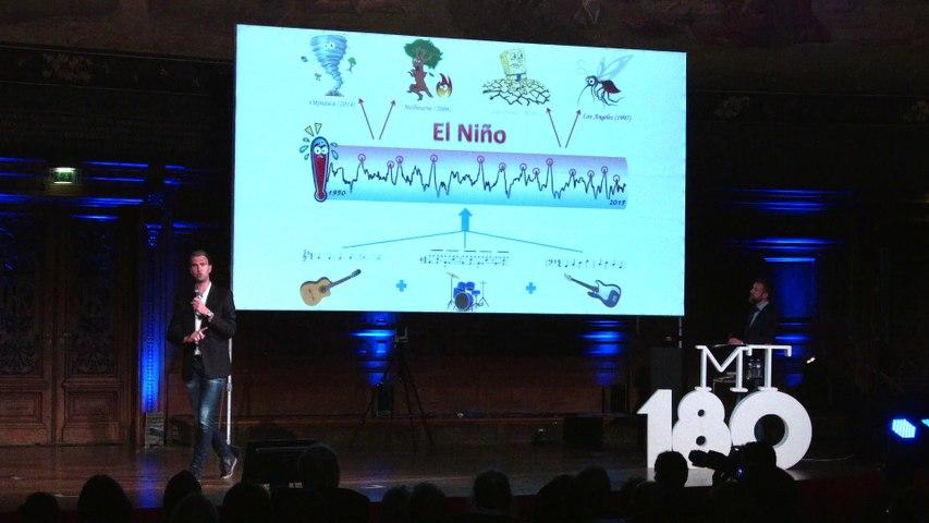 Adrien Deliège - Premier prix du jury - Ma thèse en 180 secondes 2015