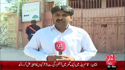 Hyderabad School Fees Main Koi Kami Ni – 02 Oct 15 - 92 News HD