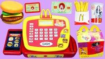 Play Doh McDonalds Surprise Egg Disney Frozen Elsa and Anna Opening McDonalds Happy Meal T