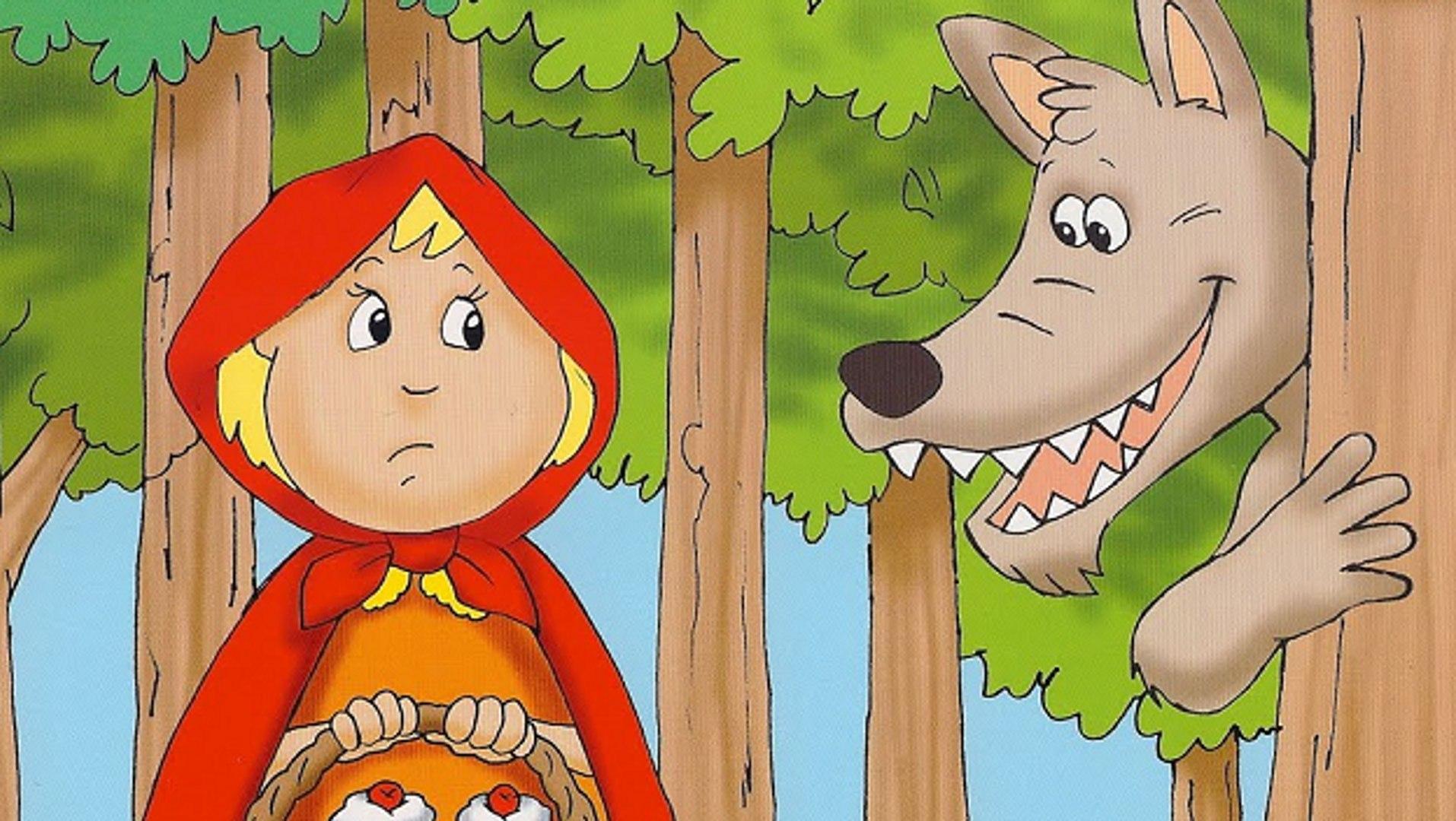 Caperucita Roja Y El Lobo Feroz Pelicula Completa Dibujos Animados En Español Vídeo Dailymotion