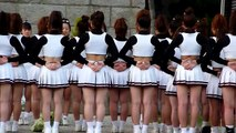 Young cheerleaders chearleeding girls Kyoto cheerleaders