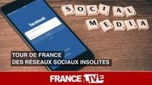 Tour de France des réseaux sociaux insolites