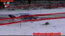 Compilation daccident de voiture de Rallye sur neige #4 / Crash rally compilation snow