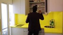 Un appartement aux lignes et aux couleurs dynamiques