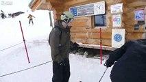Acemi kayakçının zor anları!   Komik Videolar Komedi ve Eğlence izle (video) Komedi ve Eğlence izle (video)