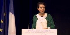[ARCHIVE] 2ème journée du numérique à l'école : discours d'ouverture par  Najat Vallaud-Belkacem