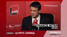 Quand Manuel Valls perd les pédales sur France Inter - Zapping du 2 octobre