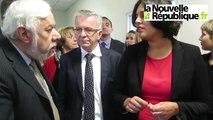 VIDEO. TOurs : la ministre du travail Myriam El Khomri en visite officielle
